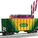 Lionel 3-17703 2-Bay Crayola Hopper (PRE-ORDER)