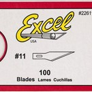 Excel Hobby Blades 22611 100Pk of #11 Blades