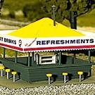Atlas HO 715 Refreshment Stand Kit, HO