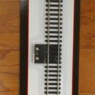 "Atlas HO 840 9"" Straight Terminal Section, Code 100, N.S. HO"