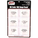 Atlas HO #55 Insulated Rail Joiners 24Pcs., Code 100