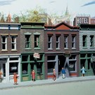 Walthers 3028 Merchant's Row, Walthers HO (pre-owned, NIB)