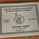 Central Railroad of N.J. Steam Loco Planbook