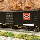 RMT RMT-96412 Reading Blue Mtn & Northern Boxcar