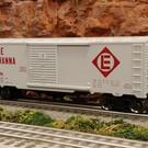 RMT RMT-96439 Erie Lackawanna Boxcar