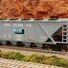 RMT RMT-96311 Long Island Covered Hopper Car