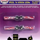 "Model Power #510-1 Peel 'N Stick LEDs 3v w/resisitor - 12"" Leads, 4Pc."