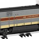 American Flyer 6-48142 Erie Lackawanna U33C Diesel Locomotive