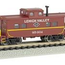 Bachmann 16858 Lehigh Valley NE Steel Caboose, Bachmann N
