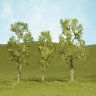 """Bachmann 32110 Aspen Trees 2.5""""-2.75"""", 4Pc"""