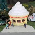 Bachmann 35303 Roadside Ice Cream Stand. Bachmann O