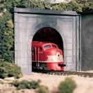 Woodland Scenics 1252 Single Concrete Tunnel Portal, Woodland Scenics HO