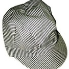 Walthers Engineer Cap Striped Adjustable