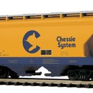 MTH 20-97868 C&O 2-Bay Centerflow Hopper