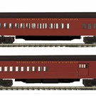 MTH 20-41045 RBM&N 2Pk 70' Madison Psg Cars