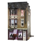 Woodland Scenics 5051Betty's Burning Building - HO Scale
