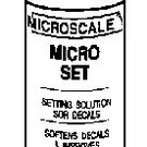 Microscale 104  Micro-Set Decal Solution, Microscale