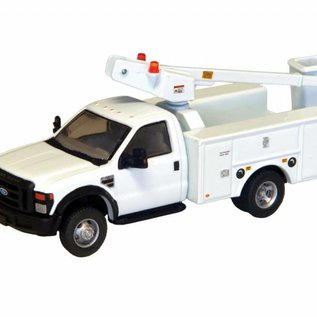 River Point F450 Ford Super Duty Bucket Truck, White, HO