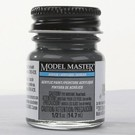 Testors 4887 Model Master Flat Grimy Black, 1/2oz.