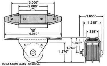 kadee 810 undermount electric uncoupler o scale. Black Bedroom Furniture Sets. Home Design Ideas