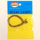 Model Power 254 14V Grain of Rice Green Bulb, 3pcs.