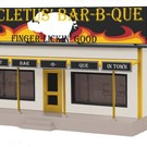 MTH 30-90294 Big Cletus Bar-B-Que Building, O Scale