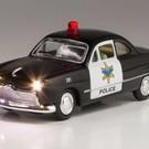 Woodland Scenics JP5973 Just Plug Police Car, O Scale