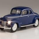 Woodland Scenics JP5978 Just Plug Blue Coupe Car, O Scale
