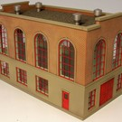 Altoona Model Works O-012 Power House - Boiler House Kit, O Scale