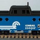54011 PRR N-5c Caboose, Conrail #23000