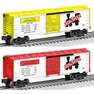 Lionel 6-81073 Monopoly Boxcar 2-Pack (Ventnor Ave & Indiana Ave)