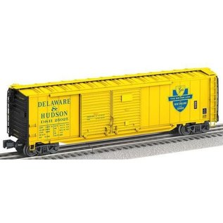 6-17755 Delaware & Hudson Scale 50' Double Door Boxcar with End Doors #25025