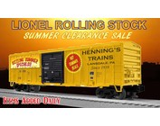 SUMMER ROLLING STOCK SALE
