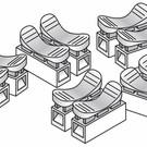Woodland Scenics JP5686 Splicer Plugs, Just-Plug