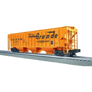 Lionel 3-16154 D&RGW PS-2 CD Covered Hopper Car #15454, LionScale
