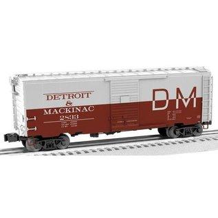 Lionel 6-17774 Detroit & Mackinac PS-1 Boxcar #2833
