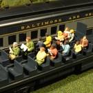 Bachmann 33165 Waist-Up Seated Passengers, O Scale