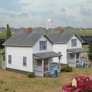 Walthers 933-3790 Company House 2-Pack, HO Kit