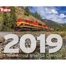 Kalmbach Books 2019 Trains Across America Calendar