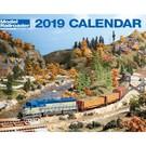 Kalmbach Books 2019 Model Railroader Calendar