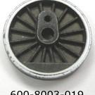 """Lionel 600-8003-019 Blind Center Wheel, """"Chessie"""""""