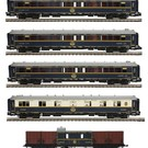 MTH 20-60022 Orient Express 5-Car Add-On Set