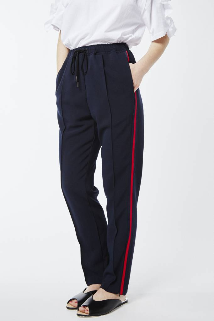Avenue Veronica Striped Draw String Pant