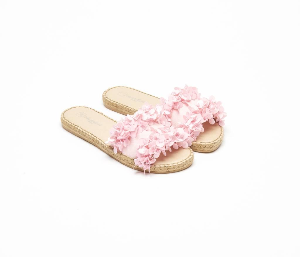 ViaVela ViaVela14 Embellished Flower Espadrilles