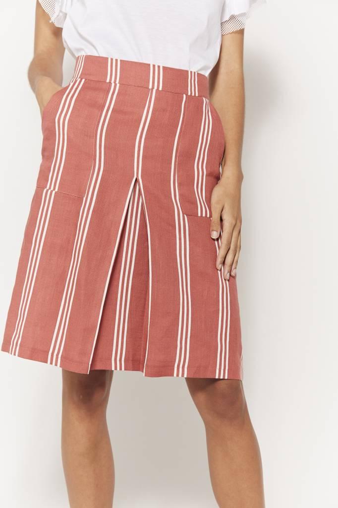 Erica Striped Mini Skirt