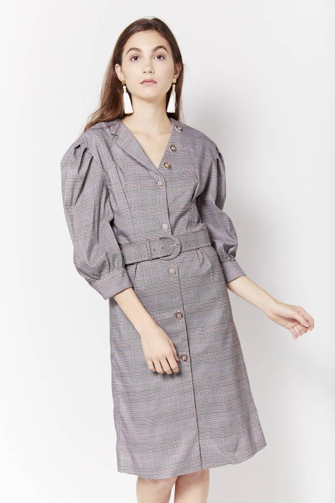 Mini Dress Dione Plaid Dress