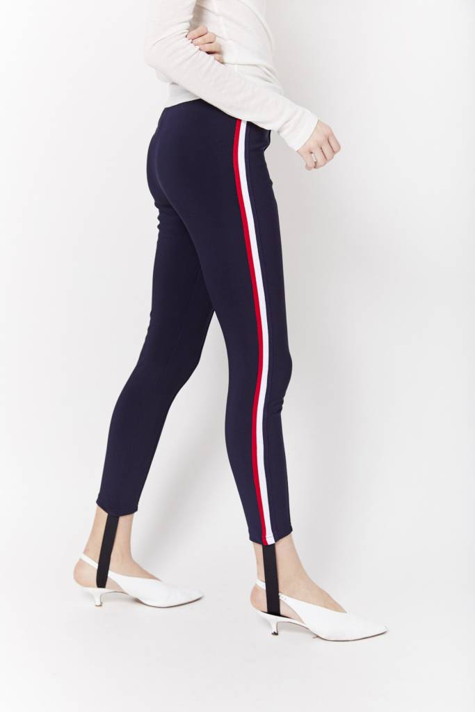 FAV Striped Detail  Stirrup Pant