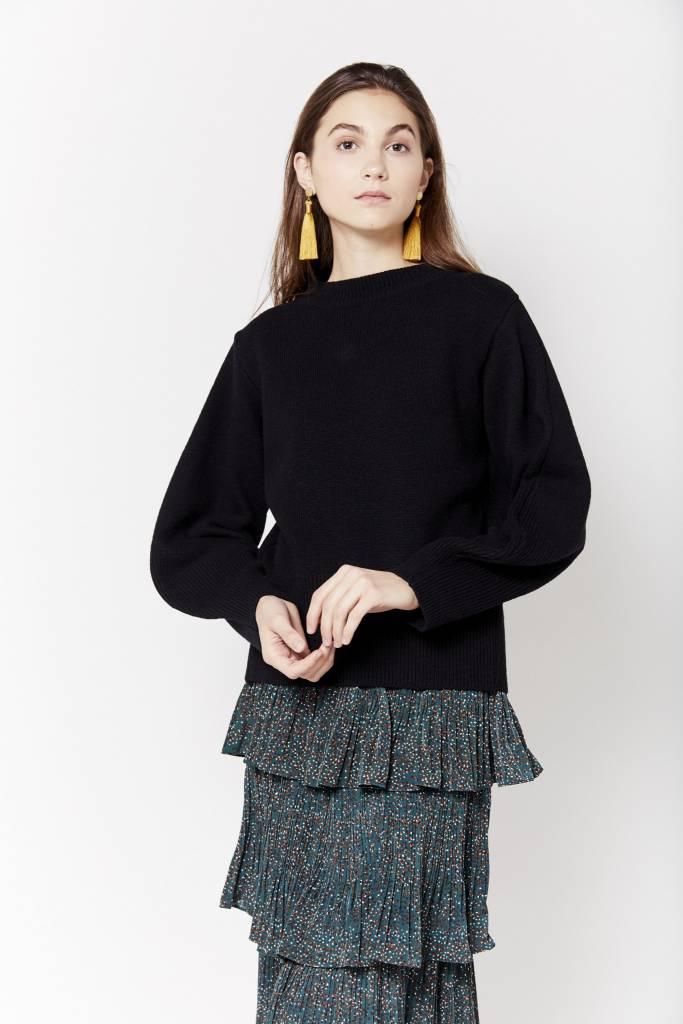 Element Tie Back Sweater