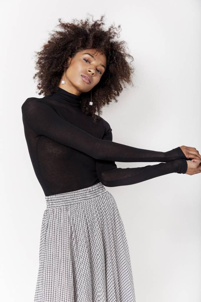 FAV Turtleneck Black Knit