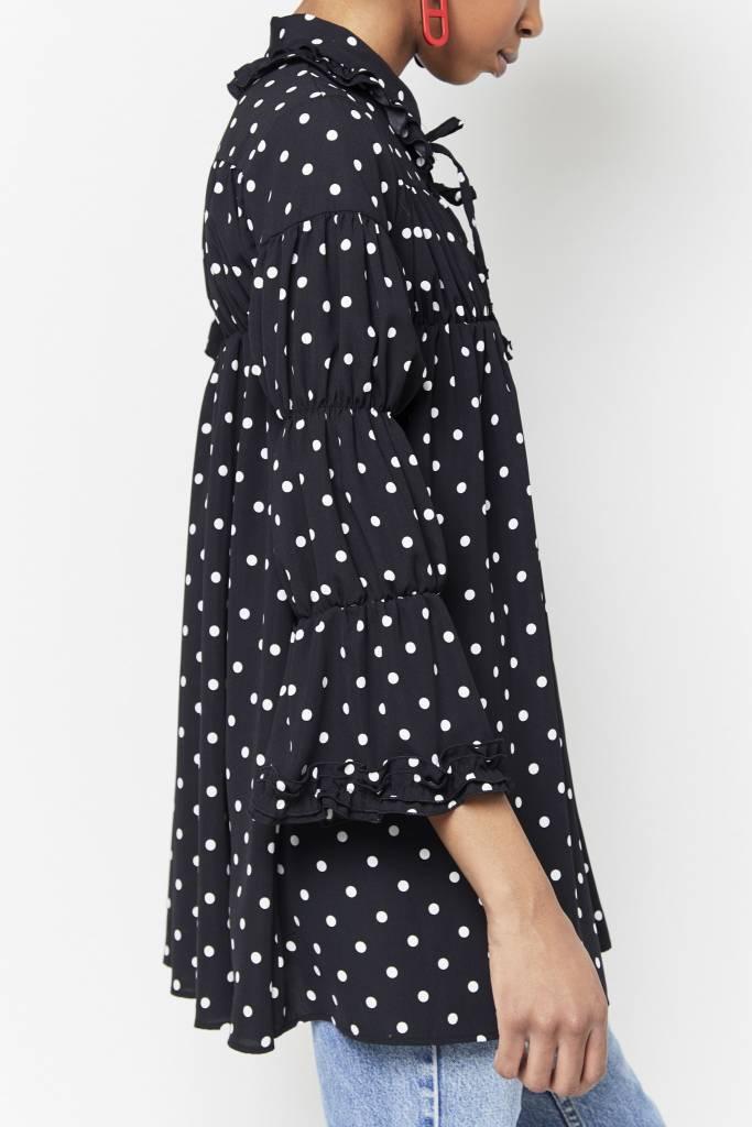 Tarrot Polka-Dot mini Dress